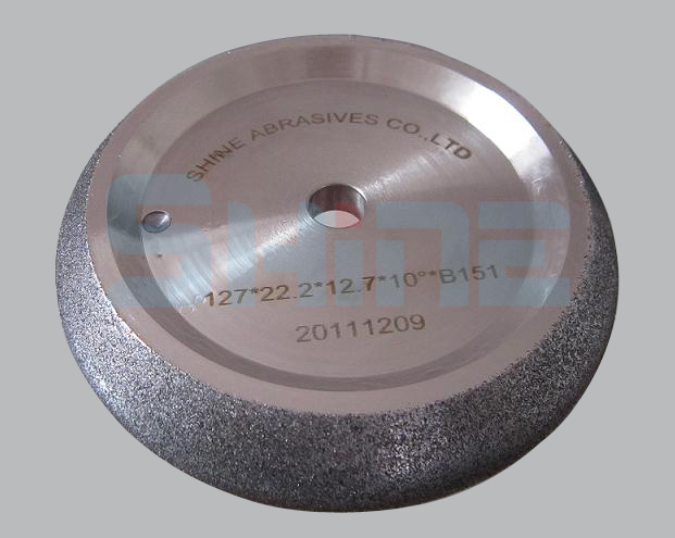 CBN wheels for band saw sharpening